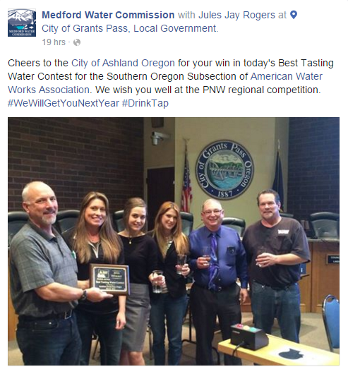 2016mar4 Administration City Of Ashland Oregon