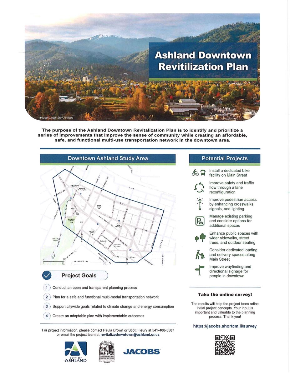 Revitalize Downtown Ashland