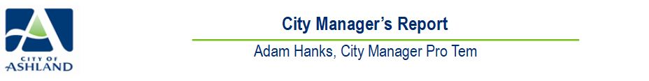 City Manager Report Header