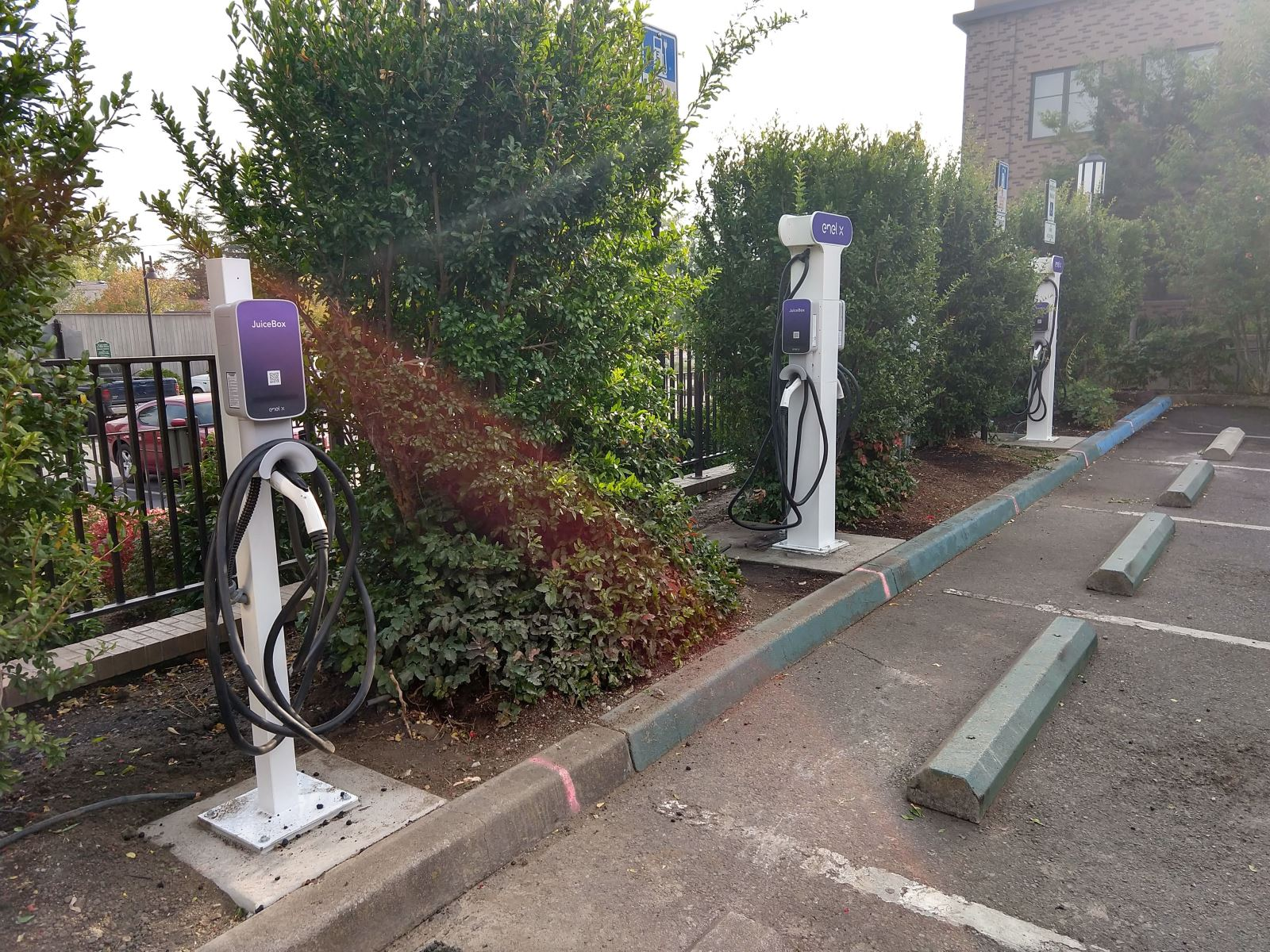 Pioneer Parking Lot Electric Vehicle Chargers Ashland, Oregon