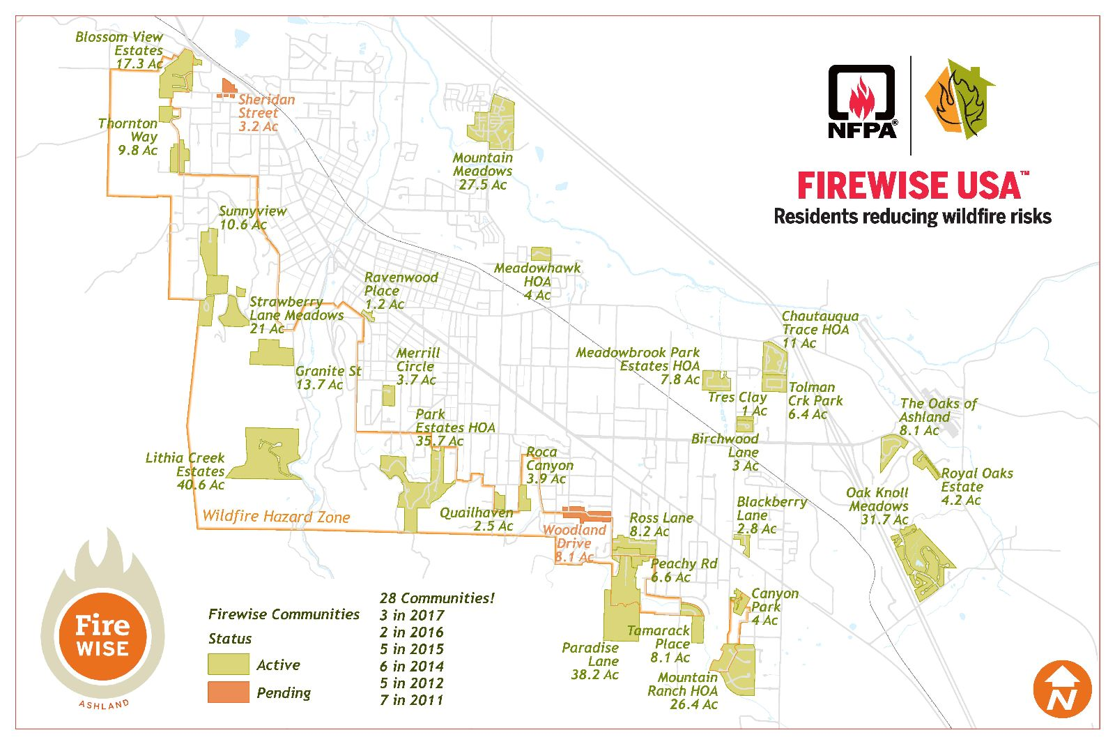Ashland FIrewise Communities