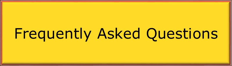 Frequently asked questions bar