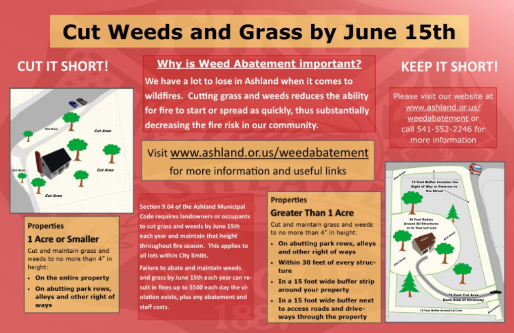 Weed Abatement flyer