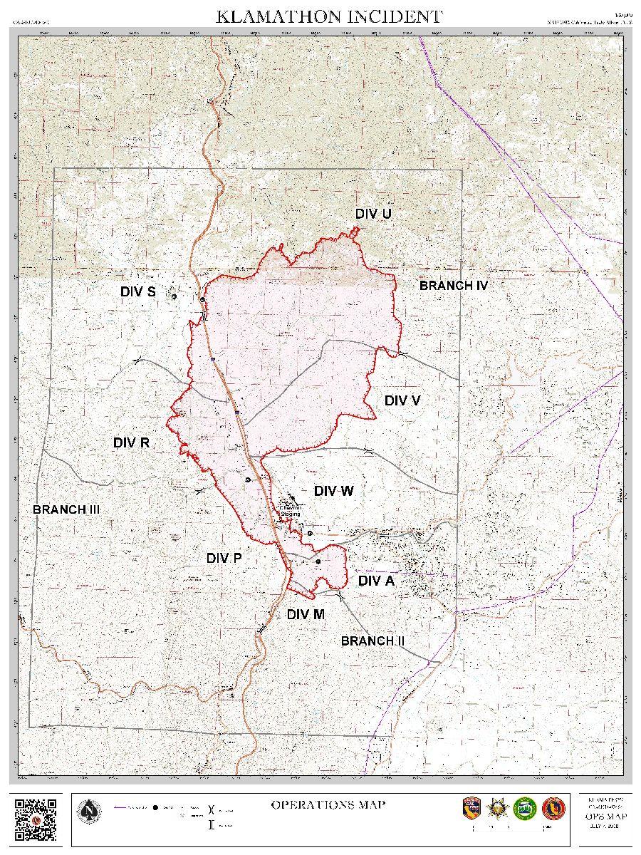 Klamathon Fire Update 30 Containment Fire City Of Ashland Oregon