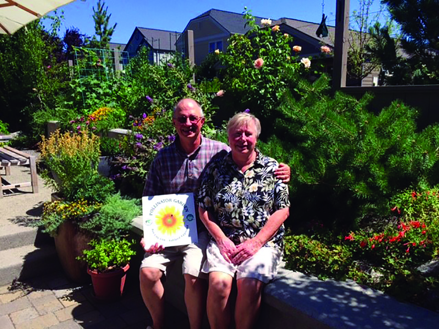 Don and Carolyn Hunsaker - Pollinator Garden