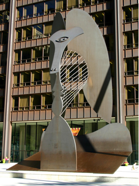 Text Box: Untitled, Pablo Picasso, Chicago, Illinois