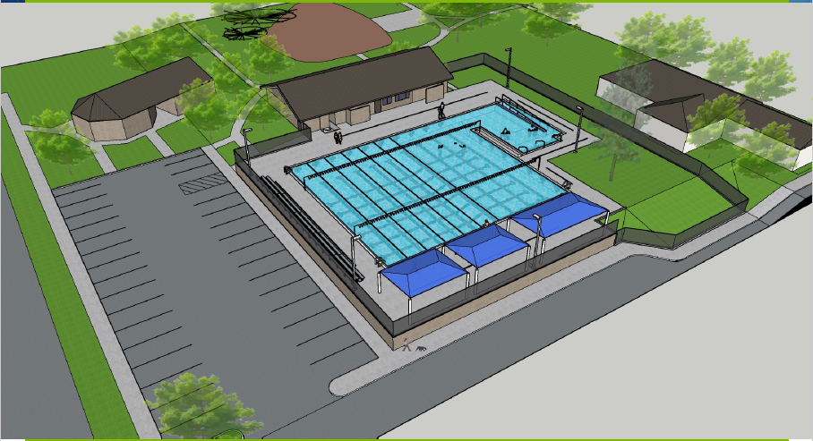Daniel Meyer Pool Redesign Concept