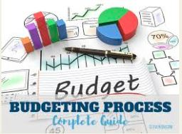 Image result for clipart budget process