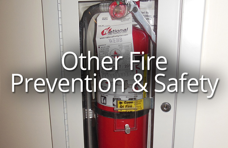 Other Fire Prevention & Safety