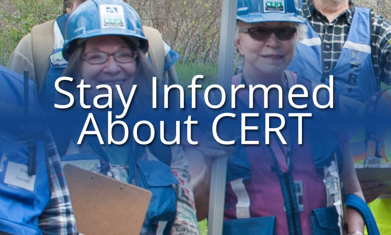 Stay Informed About CERT