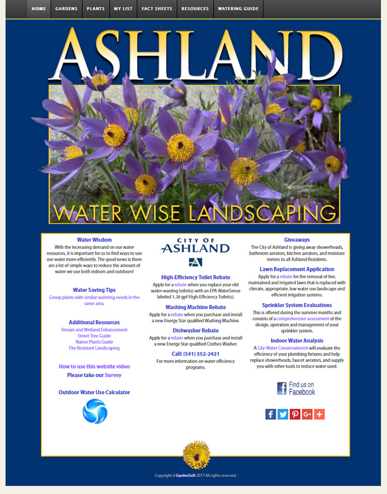 Visit  Water Wise Landscaping