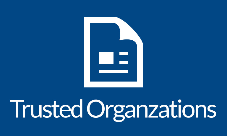 Trusted Organizations