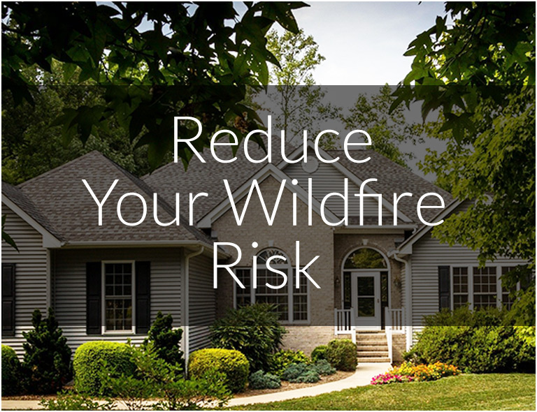 Reduce Your Wildfire Risk