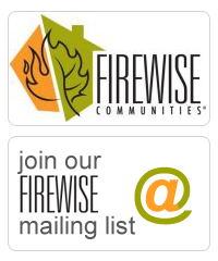 Join our FIREWISE mailing list