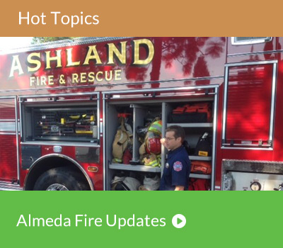 Hot Topic - Almeda Fire Updates
