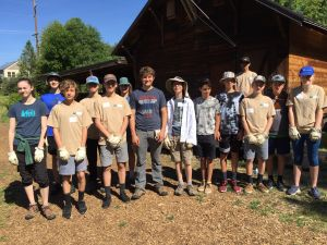 Ashland Youth Conservation Corps (Session 1, 2, 3 2018)