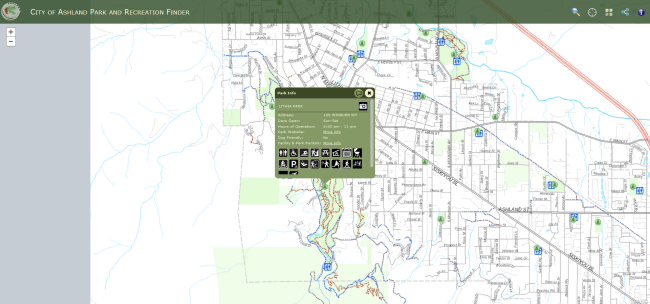 Park and Trail Finder Web App