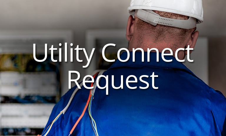 Utility Connect Request