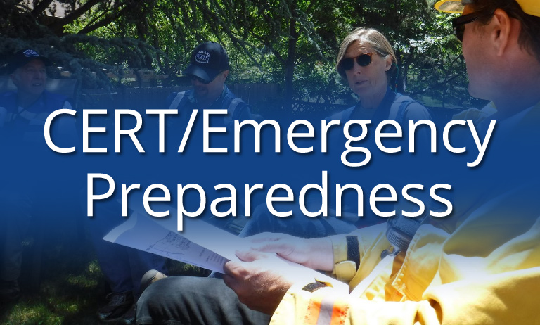 CERT/Emergency Preparedness