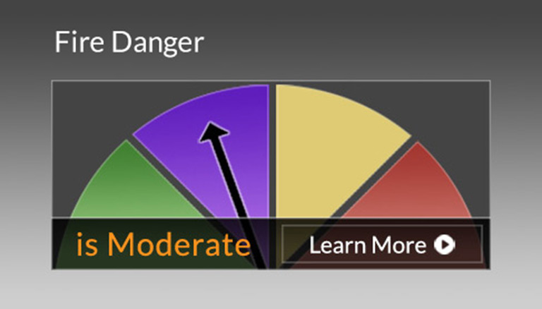 Fire Danger Moderate