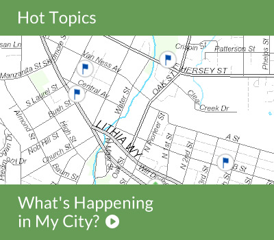 Hot Topic - What's Happening in My City
