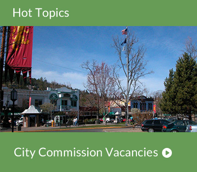 Hot Topic - City Commission Vacancies